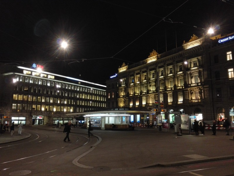 Paradeplatz Zürich (UBS & CS)