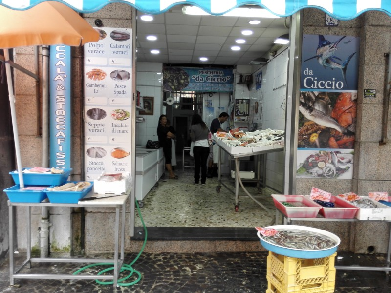 Fische a la Italia